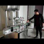 máy làm mỹ phẩm, máy tự động dán pít-tông