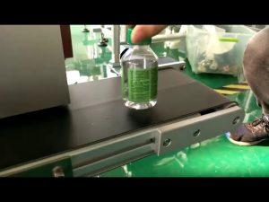 máy dán nhãn dán máy tính để bàn cho chai nước bằng nhựa