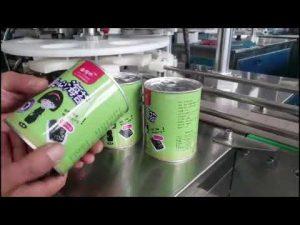 máy làm đầy chai chất lỏng tự động đầy đủ với capper