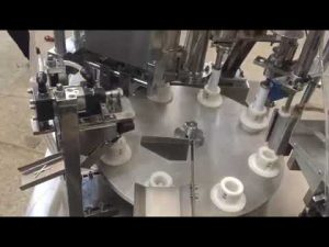 tự động dán nhựa mềm, thuốc mỡ, kem đánh răng, máy hàn kín ống