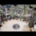 tự động chất lỏng đóng chai 10ml đóng nắp máy