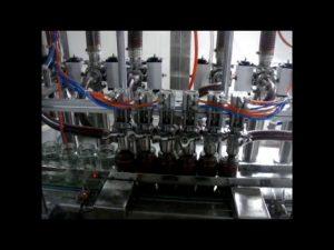 tuyến tính tự động 4 đầu piston chai nước sốt ketchup nhớt đóng gói chất lỏng đóng gói