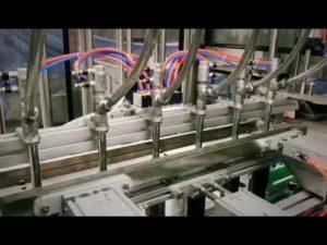 tự động tẩy rửa tuyến tính piston, dầu gội, dầu bôi trơn máy đóng chai chất lỏng nhớt