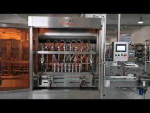 máy làm đầy nước sốt cà chua tự động đầy đủ
