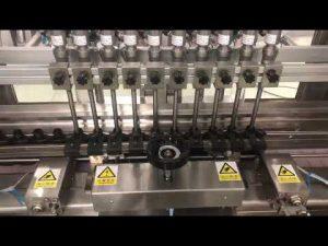 chất lỏng cồn cồn máy làm đầy tuyến tính, lọ mật ong nhỏ chai dầu phụ