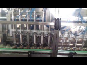tự động thủy tinh lọ mật ong làm đầy niêm phong máy