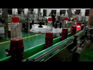 máy làm đầy chai tự động tốc độ cao cho sốt cà chua, mứt, nước sốt