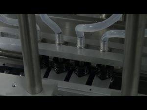 Máy làm đầy chất lỏng chính xác 10ml-5l 6 đầu