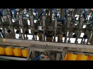 Máy làm đầy chai tự động 12 đầu cho dầu sốt cà chua