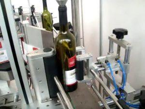 máy dán nhãn tự động tốc độ cao hai mặt và chai tròn