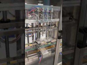máy chiết rót nước hoa tự động, máy rót chất lỏng có giá