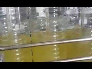tự động đóng chai dầu đóng gói máy ăn