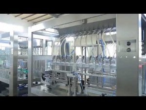 nhà máy tự động tuyến tính nhớt nhớt lỏng dầu ăn chai jar máy làm đầy